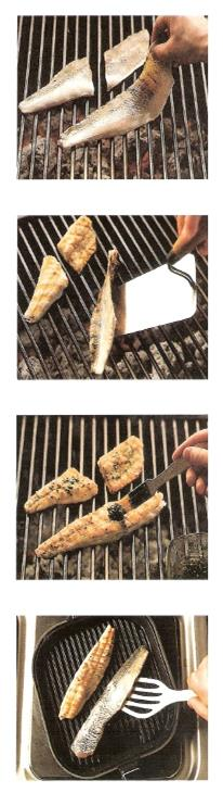 Grilled crustaceans