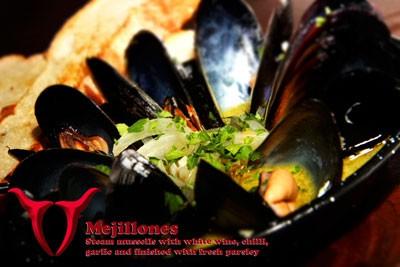 Mejillones mussells